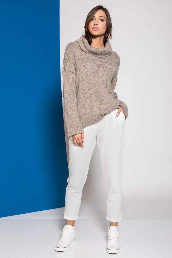 Παντελόνι με ρεβέρ σε διάφορα χρώματα