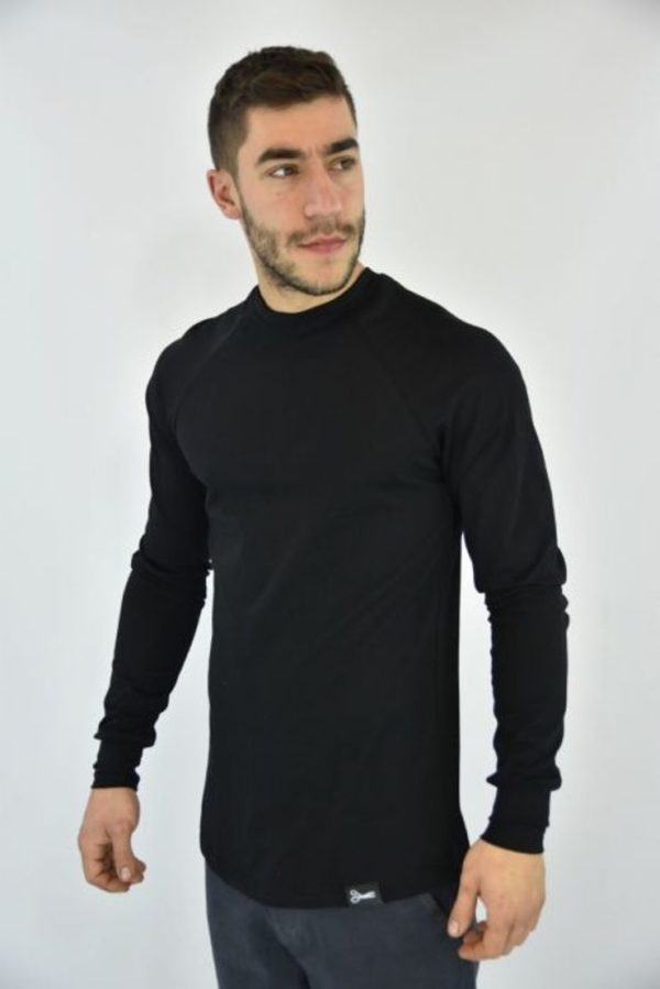 Μπλούζα deleali μαύρο